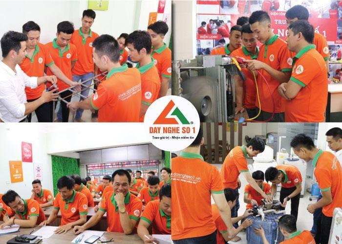Dạy nghề số 1 - Đơn vị đào tạo lớn nhất về sửa chữa thiết bị điện