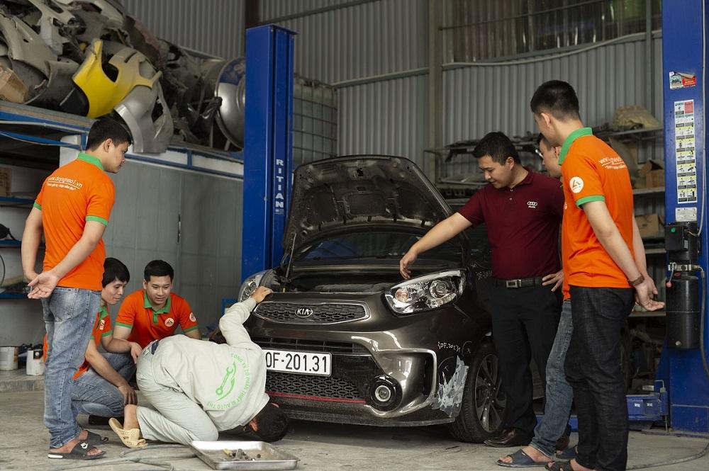 Khóa học sửa chữa điện lạnh ô tô